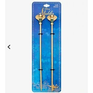 DISNEY ALADDIN JAFAR SNAKE STAFF HAIR STICKS
